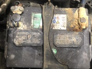 Corrosion On Battery Terminals
